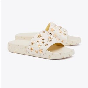Tory Burch Star Studded Slides